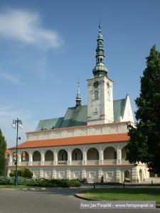 Prostějov kostel nejsvětější trojice